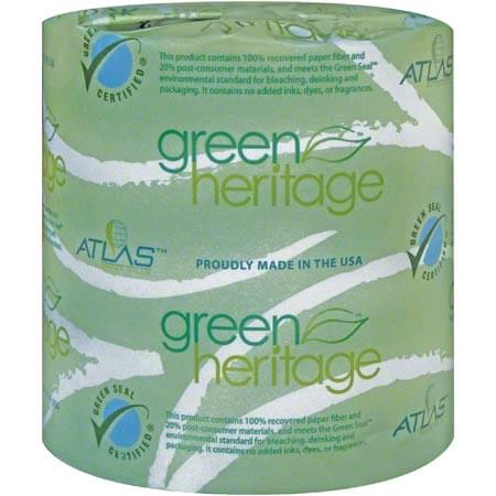 Green Heritage® 1-Ply Bathroom Tissue